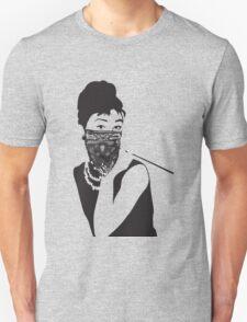 Gangster Audrey Hepburn   TSHIRT Unisex T-Shirt