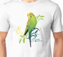 Green Parakeet Unisex T-Shirt