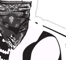 Gangster Audrey Hepburn | STICKER Sticker