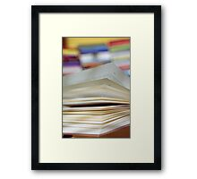 An open Book (2) Framed Print