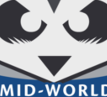 The Mid-World Bumblers - chest Sticker