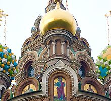 Church of the Savior on Spilled Blood by Jeffrey So