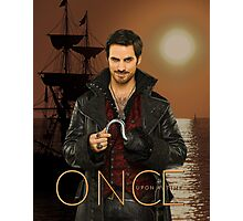 "Captain Hook Comic Poster ""Sunset"" Photographic Print"
