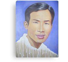 Mr Tan Canvas Print