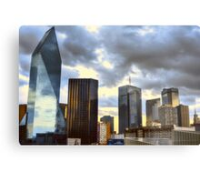 Texas Silver and Gold Metal Print