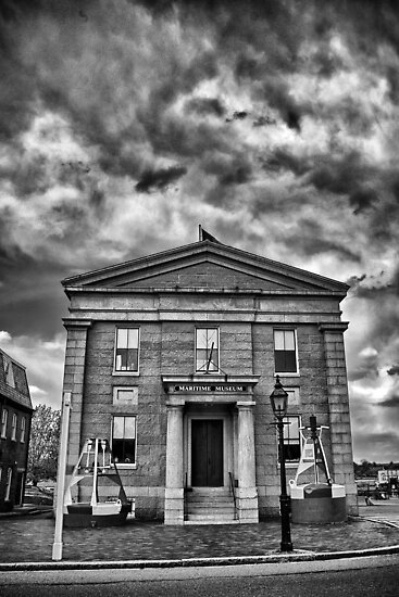 Maritime Museum B/W by Adam Northam