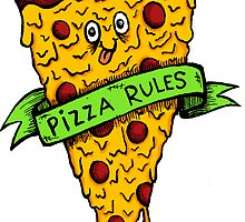 Pizza Rules by laurenramer