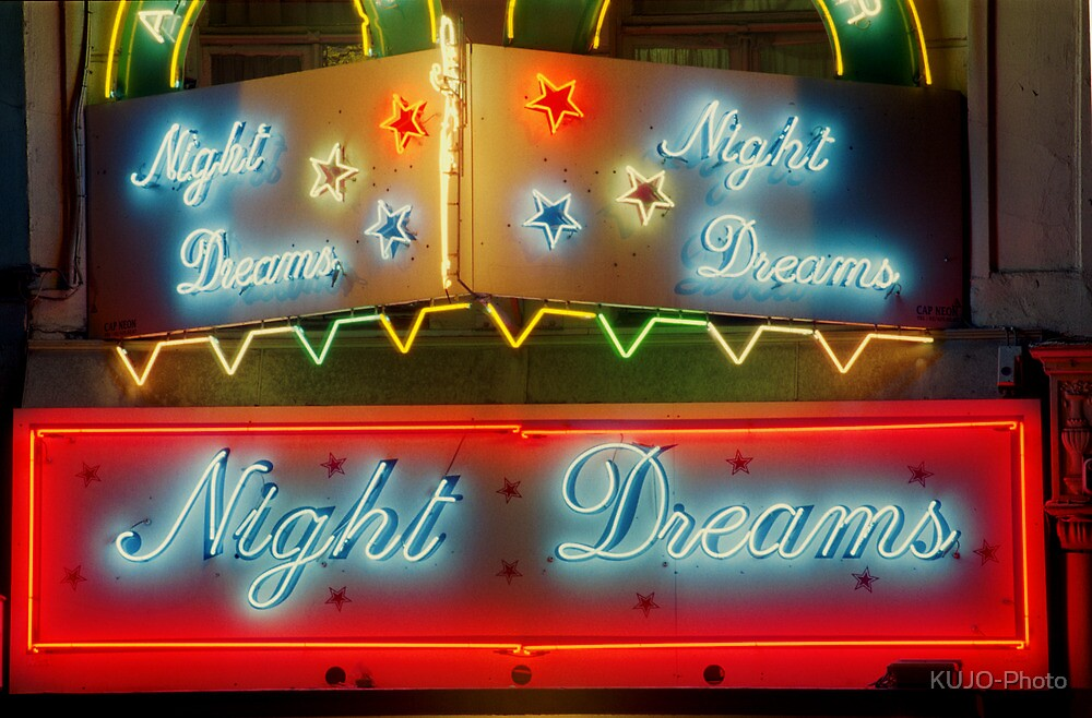 Night Dreams, Brussels by KUJO-Photo