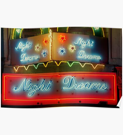 Night Dreams, Brussels Poster