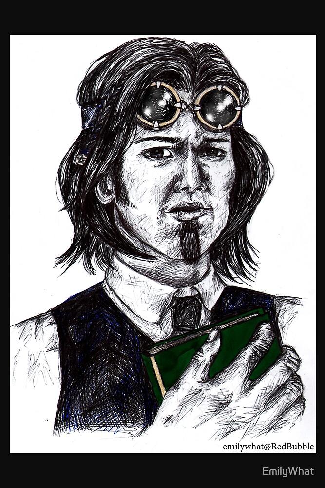 Sam Winchester AKA Steampunk Librarian by EmilyWhat
