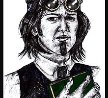 Sam Winchester AKA Steampunk Librarian by EmilyWhat