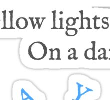 Yayo Lyrics Highlight Sticker