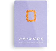 FRIENDS | minimalist poster Metal Print