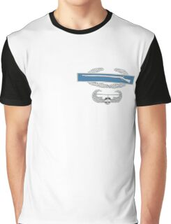 Combat Infantry Badge and Air Assault Graphic T-Shirt
