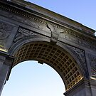 Arch in Washington Square Park by Amanda Vontobel Photography