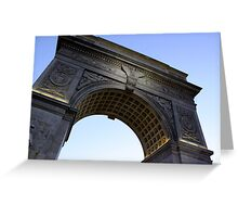Arch in Washington Square Park Greeting Card