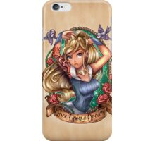 Once Upon A Dream (blue dress) iPhone Case/Skin