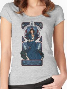 Infinite Nouveau Women's Fitted Scoop T-Shirt