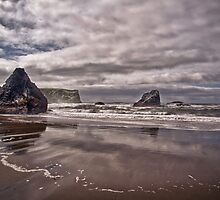 Low Tide Storm by Adam Northam