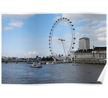 London - Beautiful London Eye Poster