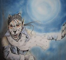 when its the full moon by sandra chapdelaine