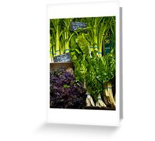 The Farmers Market - Broadway Farmers Market - Tacoma, WA Greeting Card