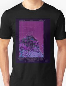 USGS Topo Map Washington State WA Dungeness 240900 1939 62500 Inverted T-Shirt