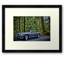 Dodge: Wild Framed Print