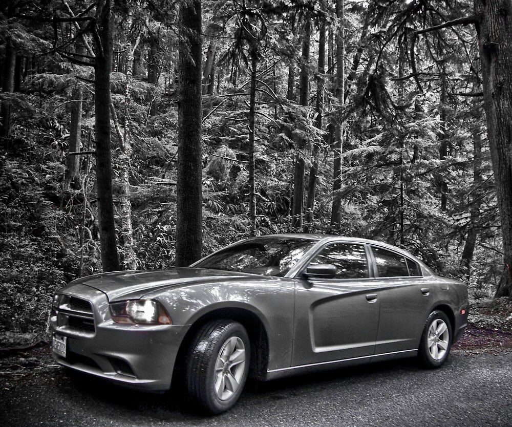 B/W Dodge by anorth7