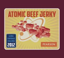 Atomic Beef Jerky Global Corporate Challenge Shirt by electrasteph