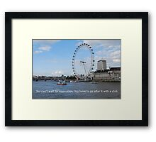 London Eye - Great Britain Framed Print