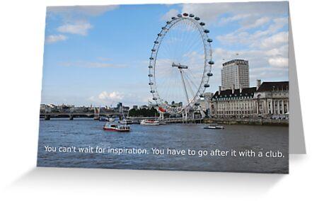 London Eye - Great Britain by santoshputhran