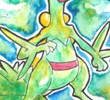 Epic Sceptile Watercolor Tshirts + More! ' Pokemon ' Jonny2may Sticker