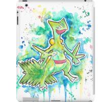 Epic Sceptile Watercolor Tshirts + More! ' Pokemon ' Jonny2may iPad Case/Skin