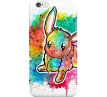 Cute Eevee Watercolor Tshirts + More! ' Pokemon ' Jonny2may iPhone Case/Skin