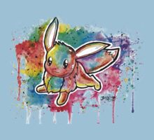 Cute Eevee Watercolor Tshirts + More! ' Pokemon ' Jonny2may Kids Clothes