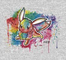 Cute Eevee Watercolor Tshirts + More! ' Pokemon ' Jonny2may Kids Clothes