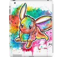 Cute Eevee Watercolor Tshirts + More! ' Pokemon ' Jonny2may iPad Case/Skin