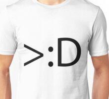 >:D Unisex T-Shirt