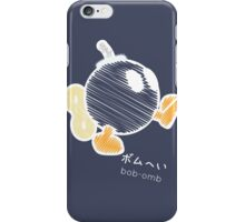 bob-omb -scribble- iPhone Case/Skin