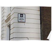 London - Little Britain Poster
