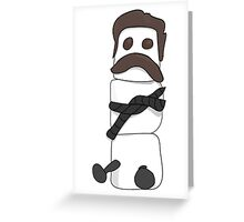 Marshmallow Ron Greeting Card