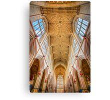 The Bath Abbey Ceiling Canvas Print