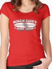 Norrin Radd`s Surf Shop Women's Fitted Scoop T-Shirt