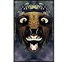I'm the monster hiding under your bed Photographic Print