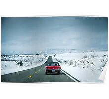 Driving the mother road *Route 66* Poster