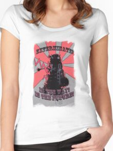Dalek!! Women's Fitted Scoop T-Shirt