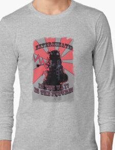 Dalek!! Long Sleeve T-Shirt