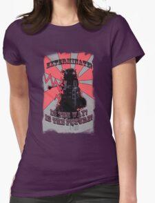 Dalek!! Womens Fitted T-Shirt