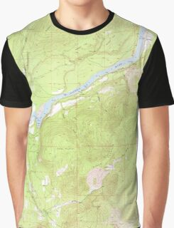 USGS Topo Map Washington State WA Boundary 240174 1952 24000 Graphic T-Shirt